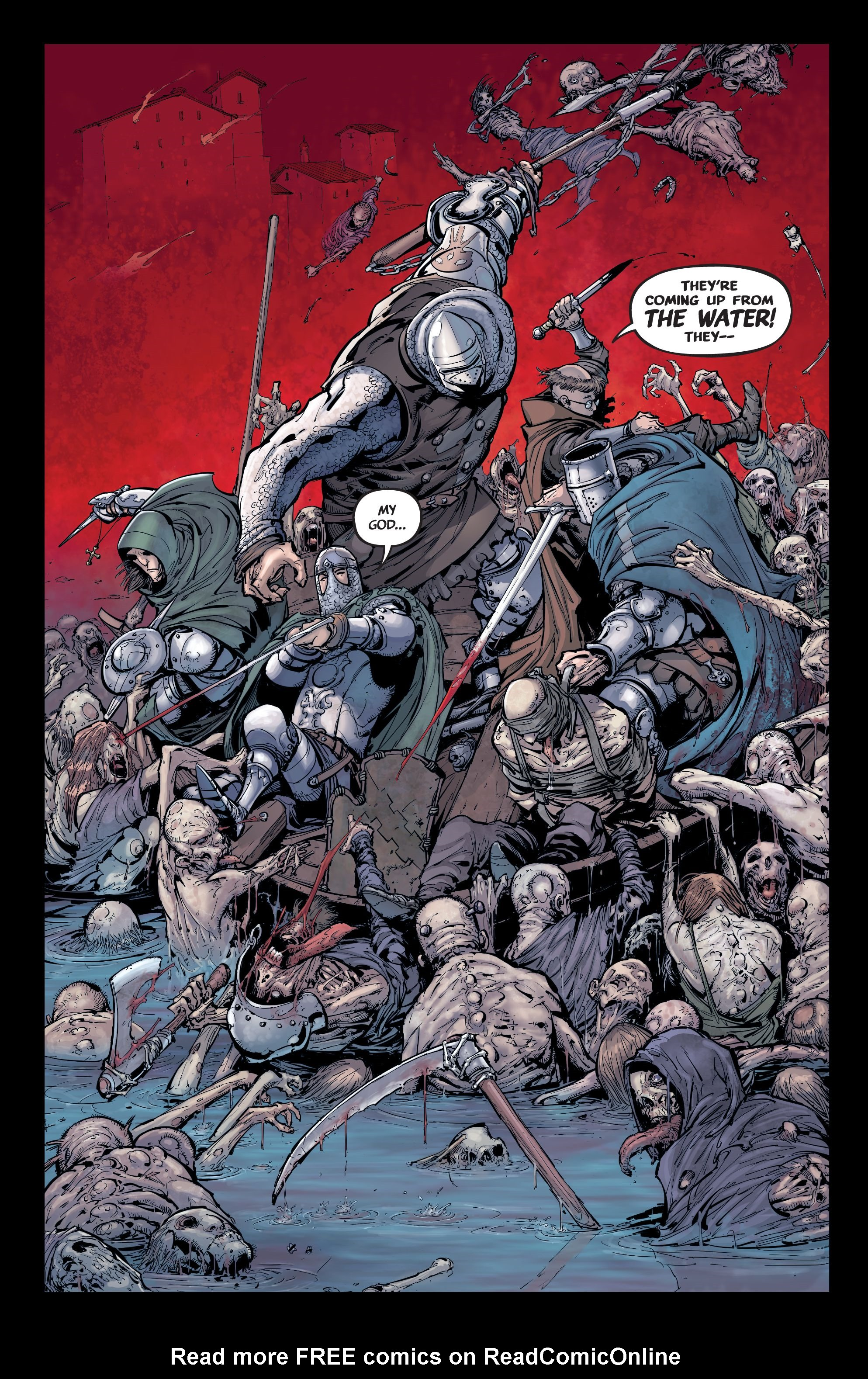Read online Pestilence comic -  Issue #2 - 16