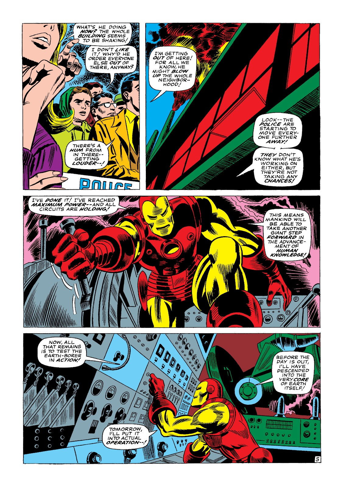 Read online Marvel Masterworks: The Invincible Iron Man comic -  Issue # TPB 4 (Part 1) - 50