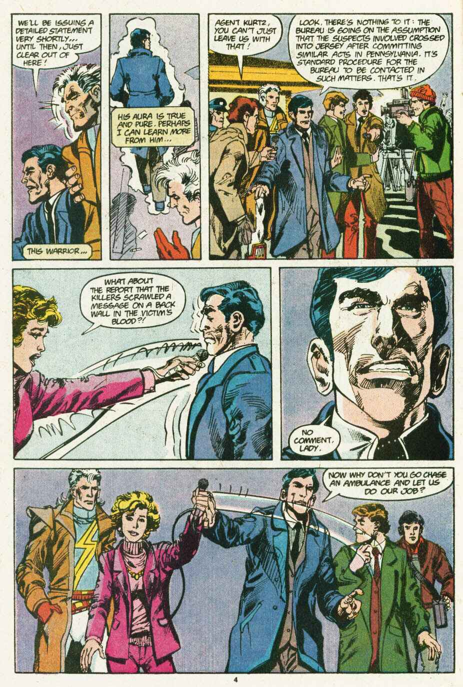 Read online Justice (1986) comic -  Issue #12 - 5