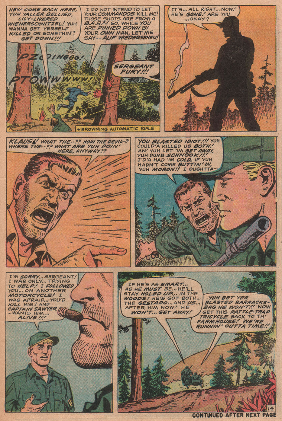 Read online Sgt. Fury comic -  Issue #77 - 21