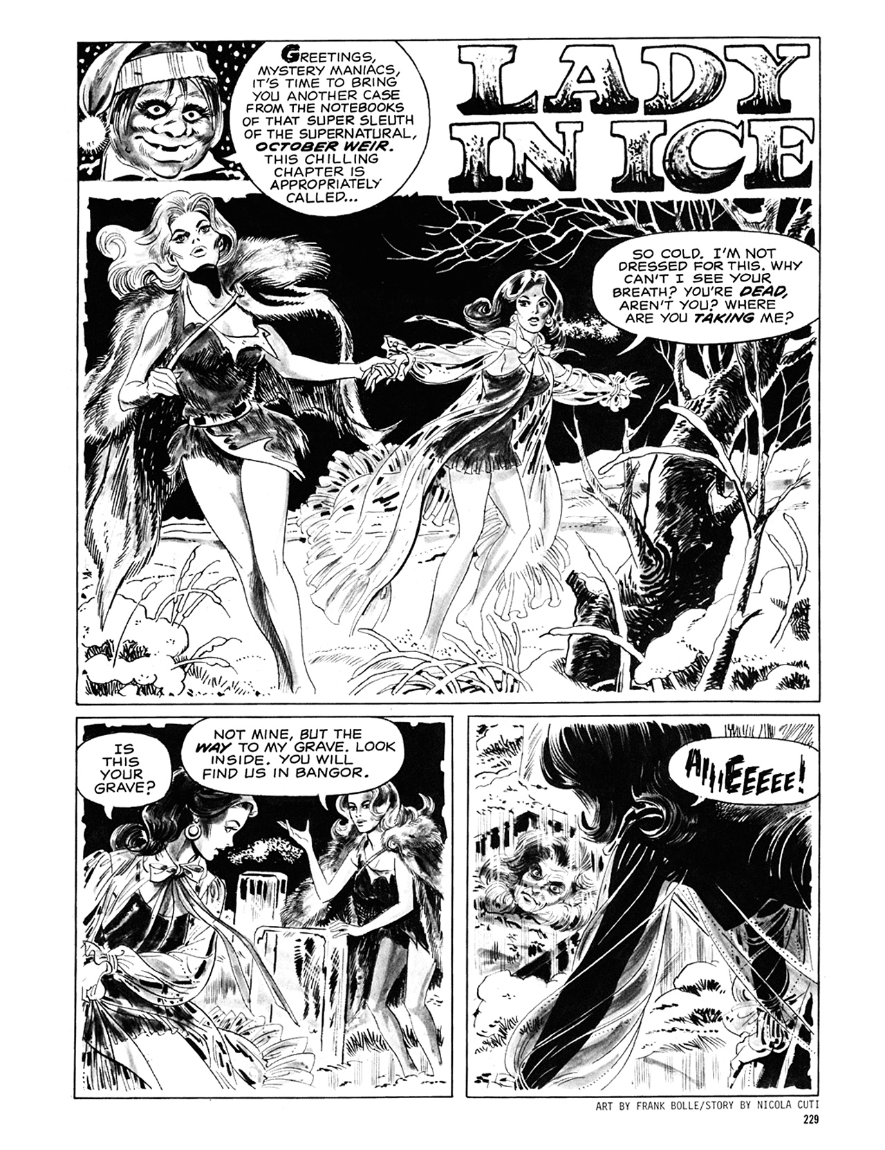 Read online Eerie Archives comic -  Issue # TPB 6 - 228