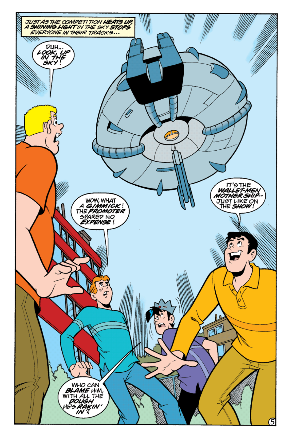 Read online Archie's Weird Mysteries comic -  Issue #17 - 7