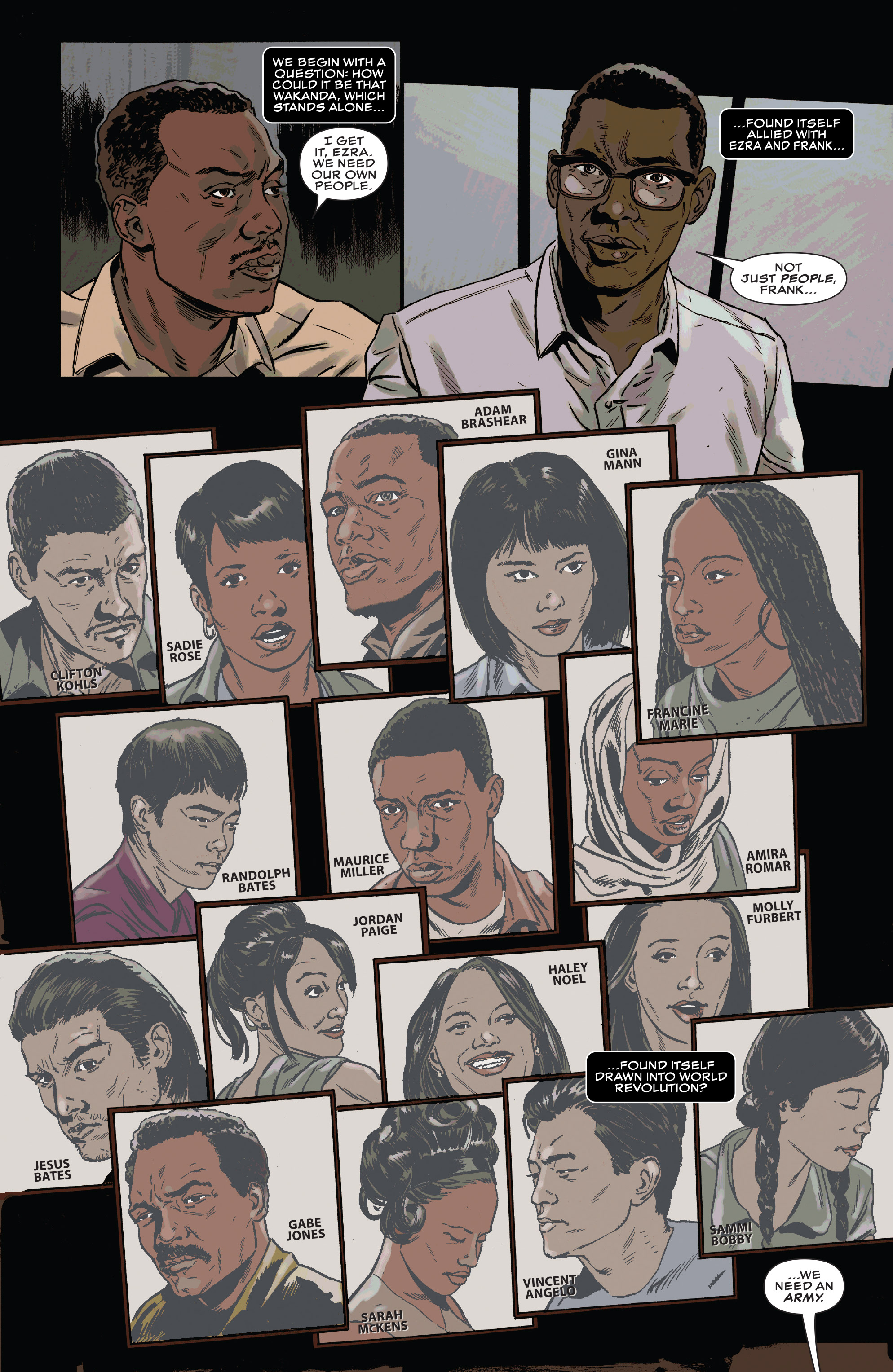 Read online Black Panther and the Crew comic -  Issue #3 - 6