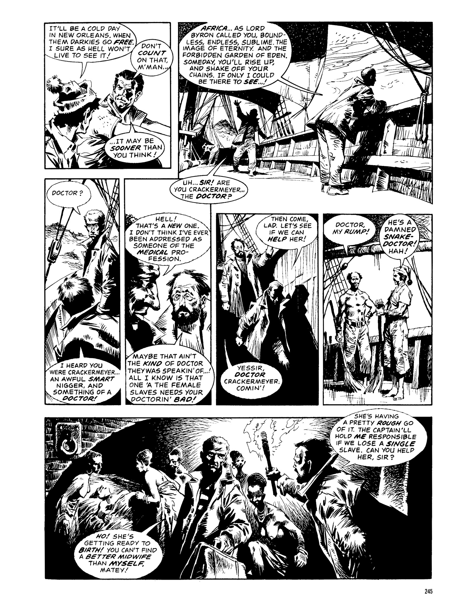 Read online Eerie Archives comic -  Issue # TPB 13 - 246