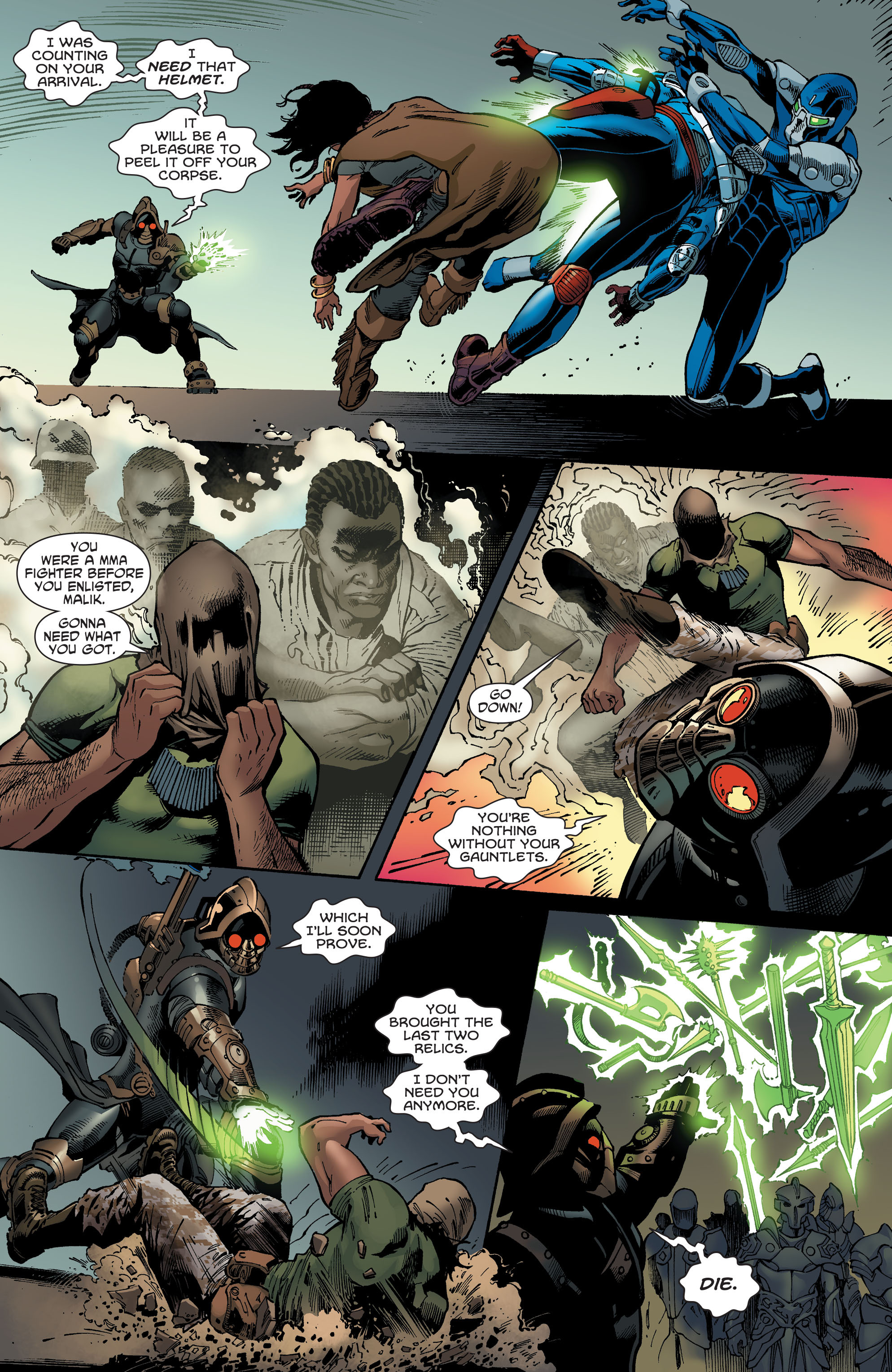 Read online Aquaman and the Others comic -  Issue #5 - 13