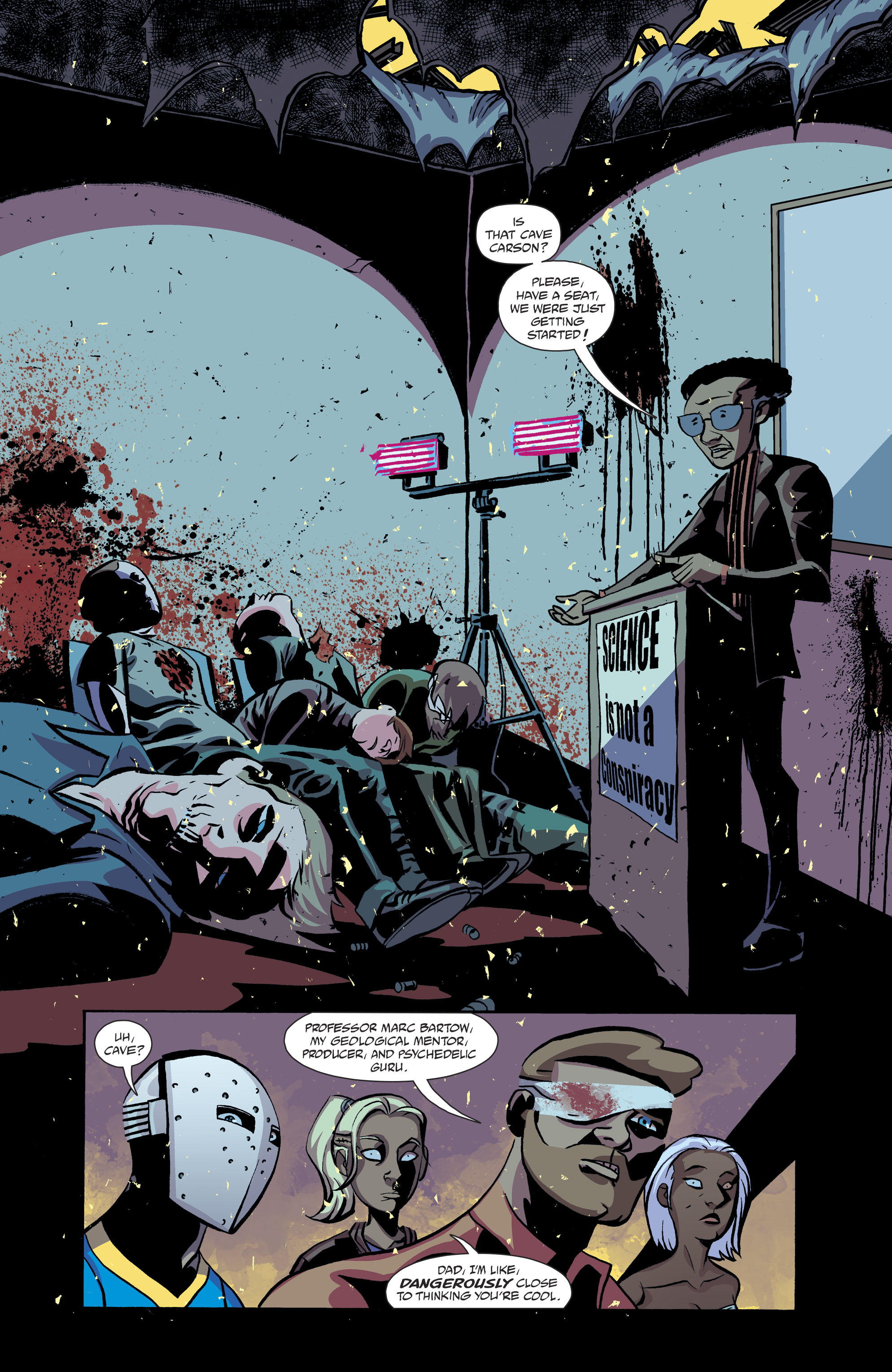 Read online Cave Carson Has a Cybernetic Eye comic -  Issue #8 - 13