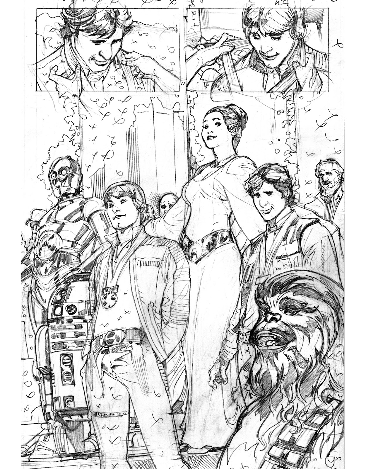 Read online The Marvel Art of Star Wars comic -  Issue # TPB (Part 2) - 29