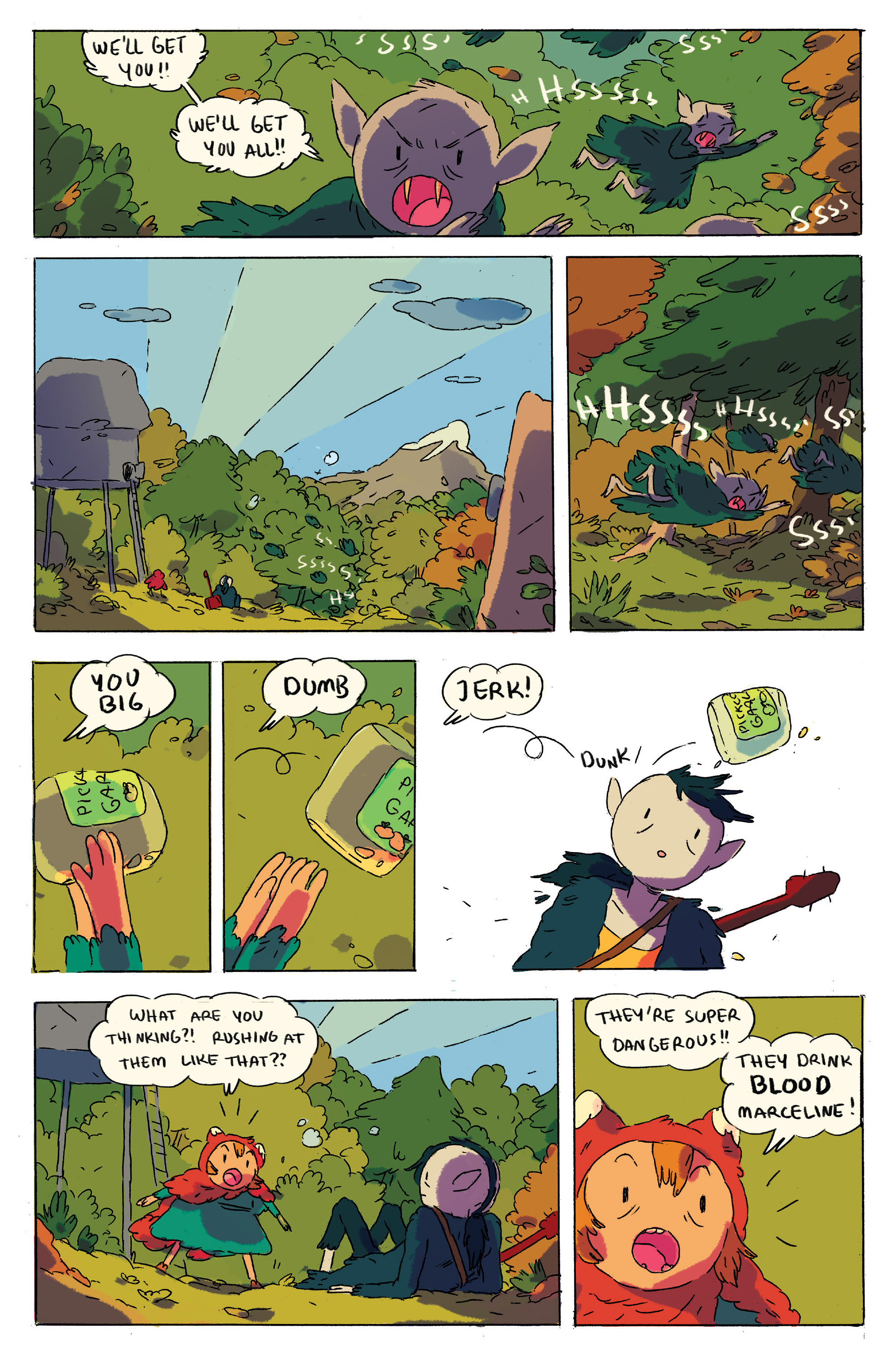 Read online Adventure Time comic -  Issue # _2015 Spoooktacular - 18
