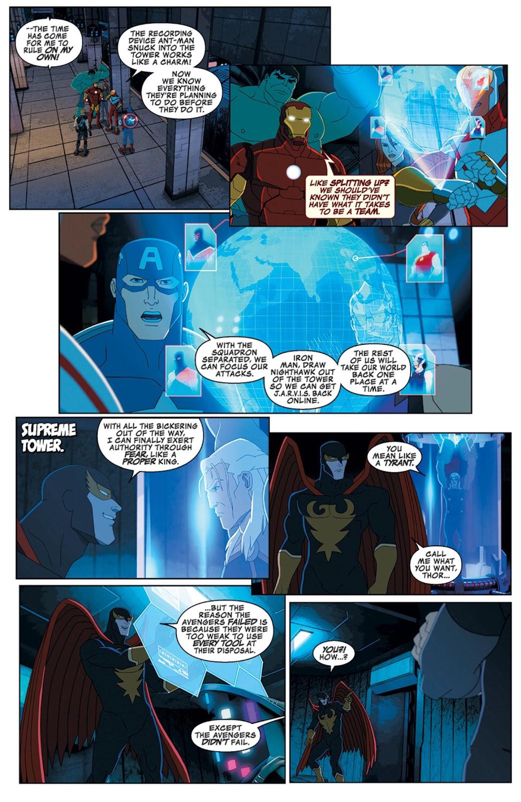 Read online Marvel Universe Avengers Assemble Season 2 comic -  Issue #14 - 7