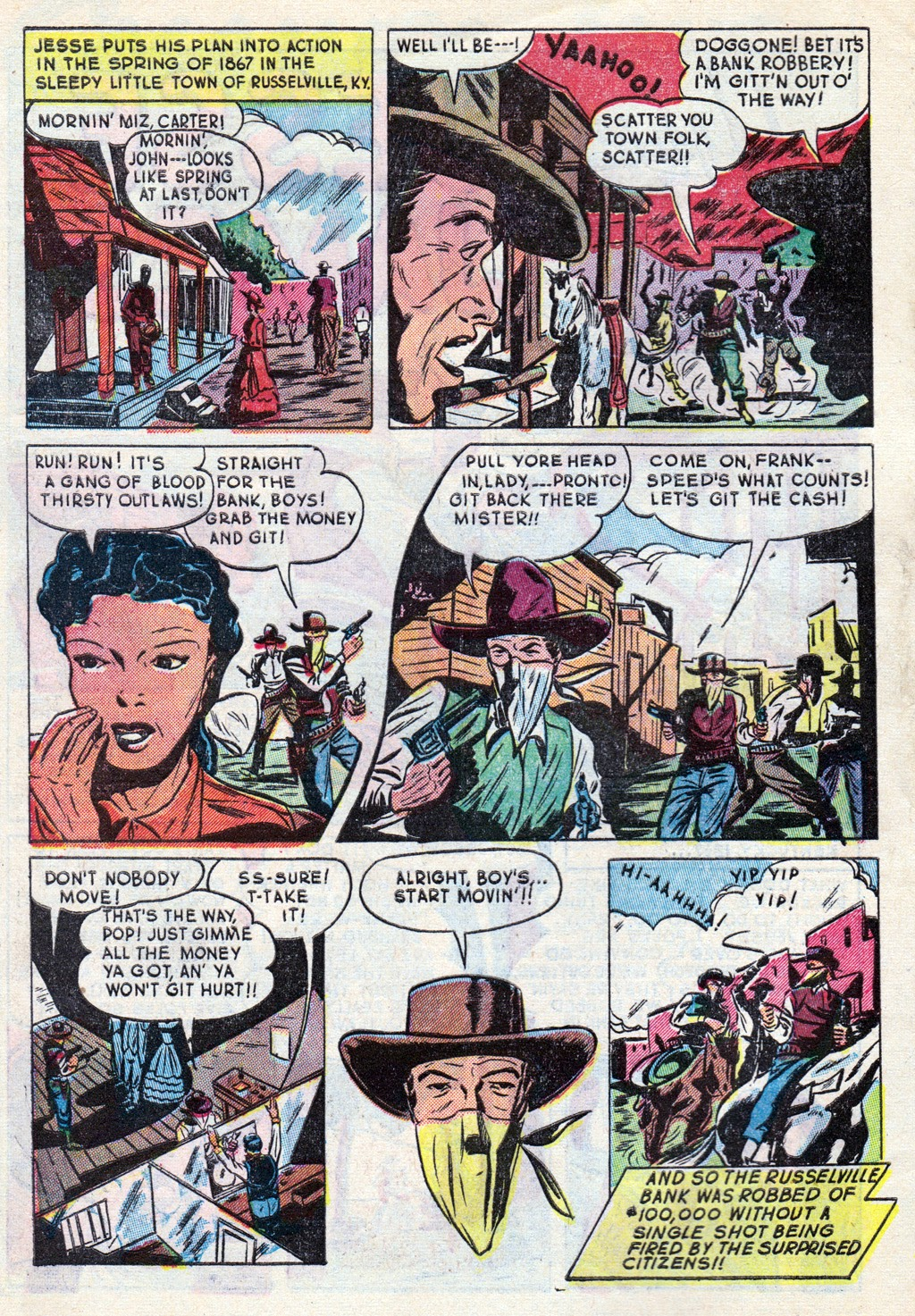 Cowboy Western Comics (1948) issue 18 - Page 4
