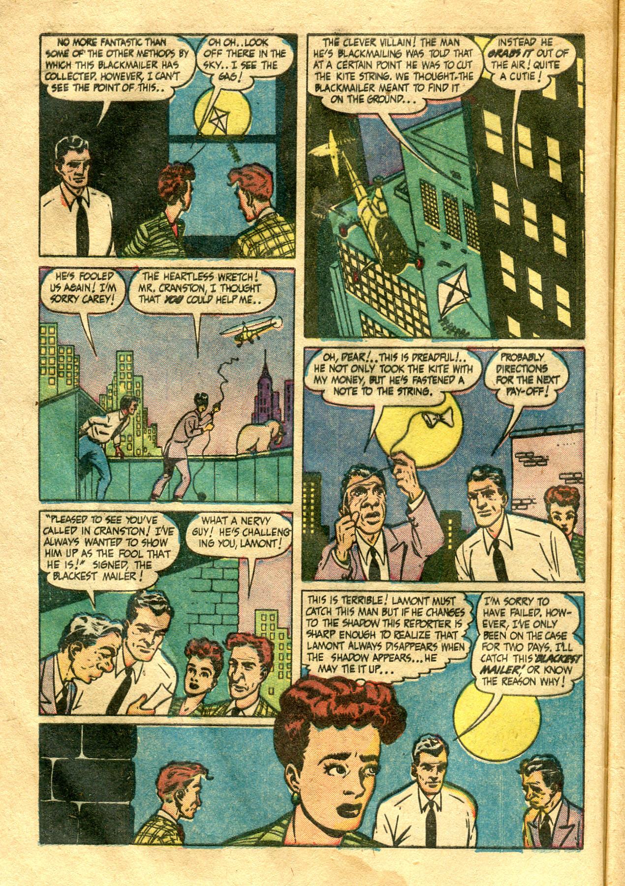 Read online Shadow Comics comic -  Issue #99 - 8