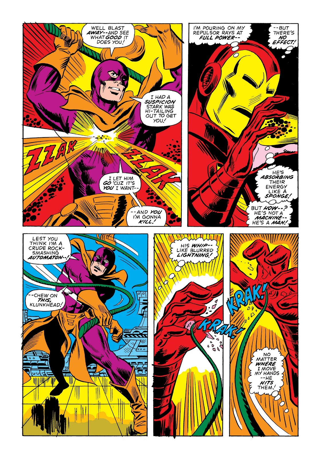 Read online Marvel Masterworks: The Invincible Iron Man comic -  Issue # TPB 9 (Part 2) - 84