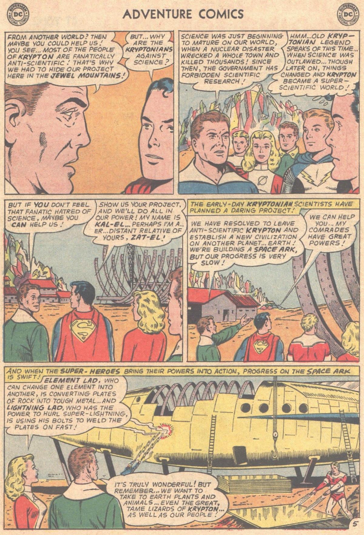Read online Adventure Comics (1938) comic -  Issue #333 - 6
