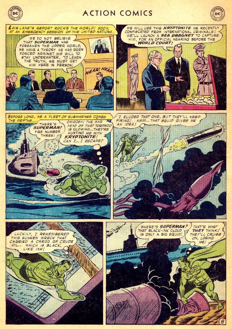 Read online Action Comics (1938) comic -  Issue #244 - 10