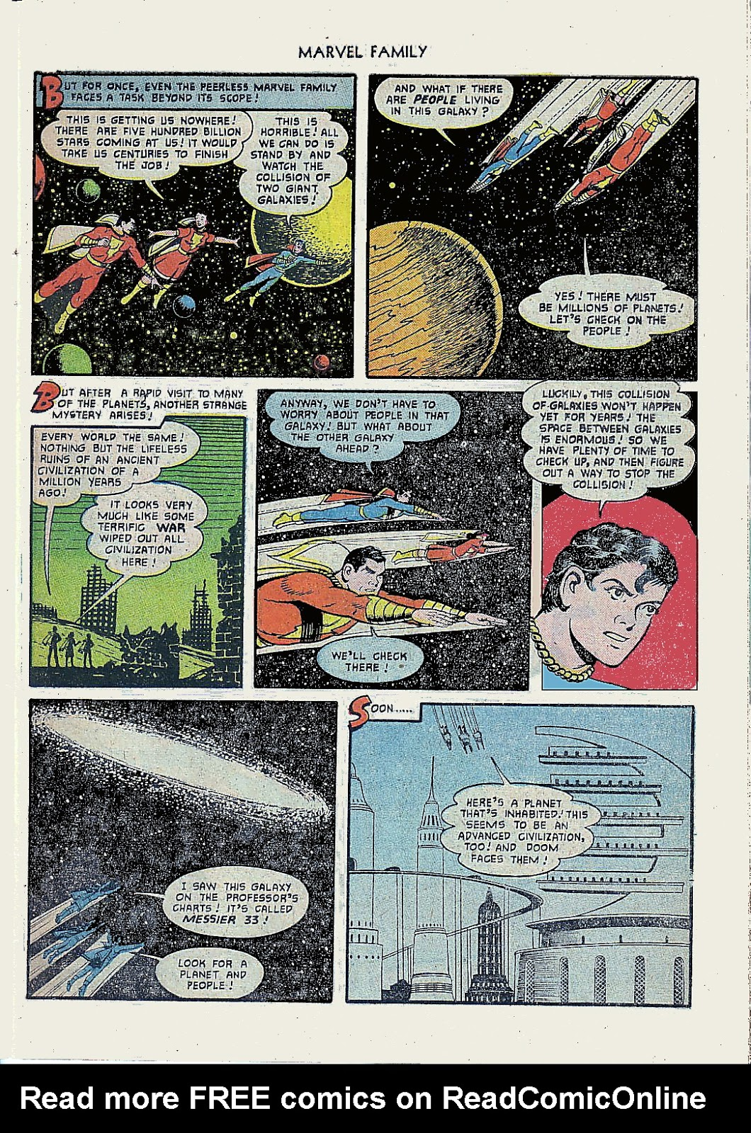 The Marvel Family issue 61 - Page 7