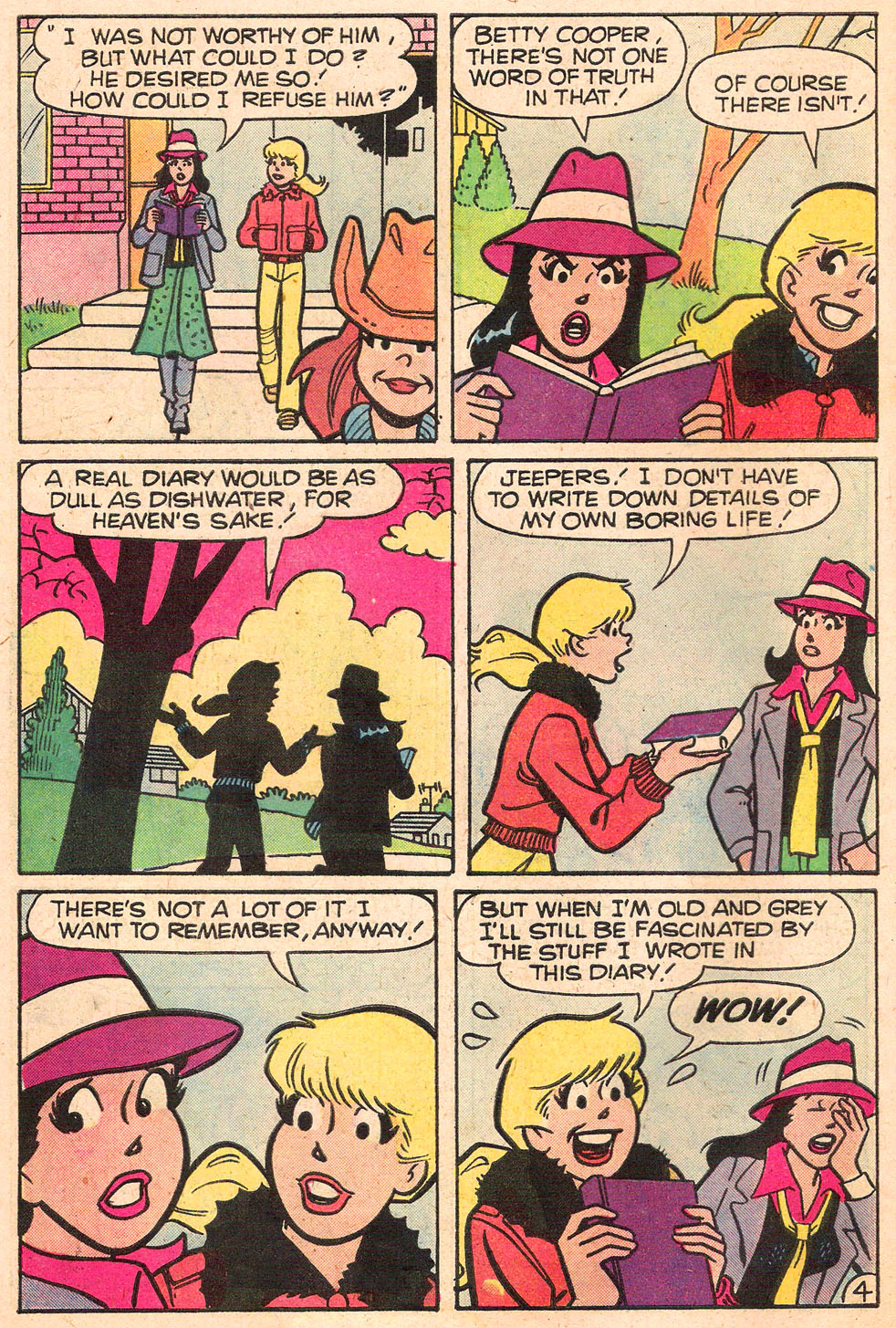 Read online Archie's Girls Betty and Veronica comic -  Issue #280 - 6