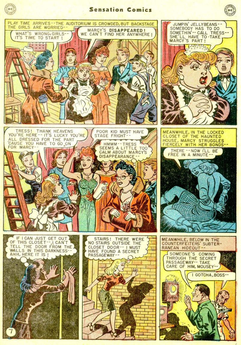 Read online Sensation (Mystery) Comics comic -  Issue #77 - 9
