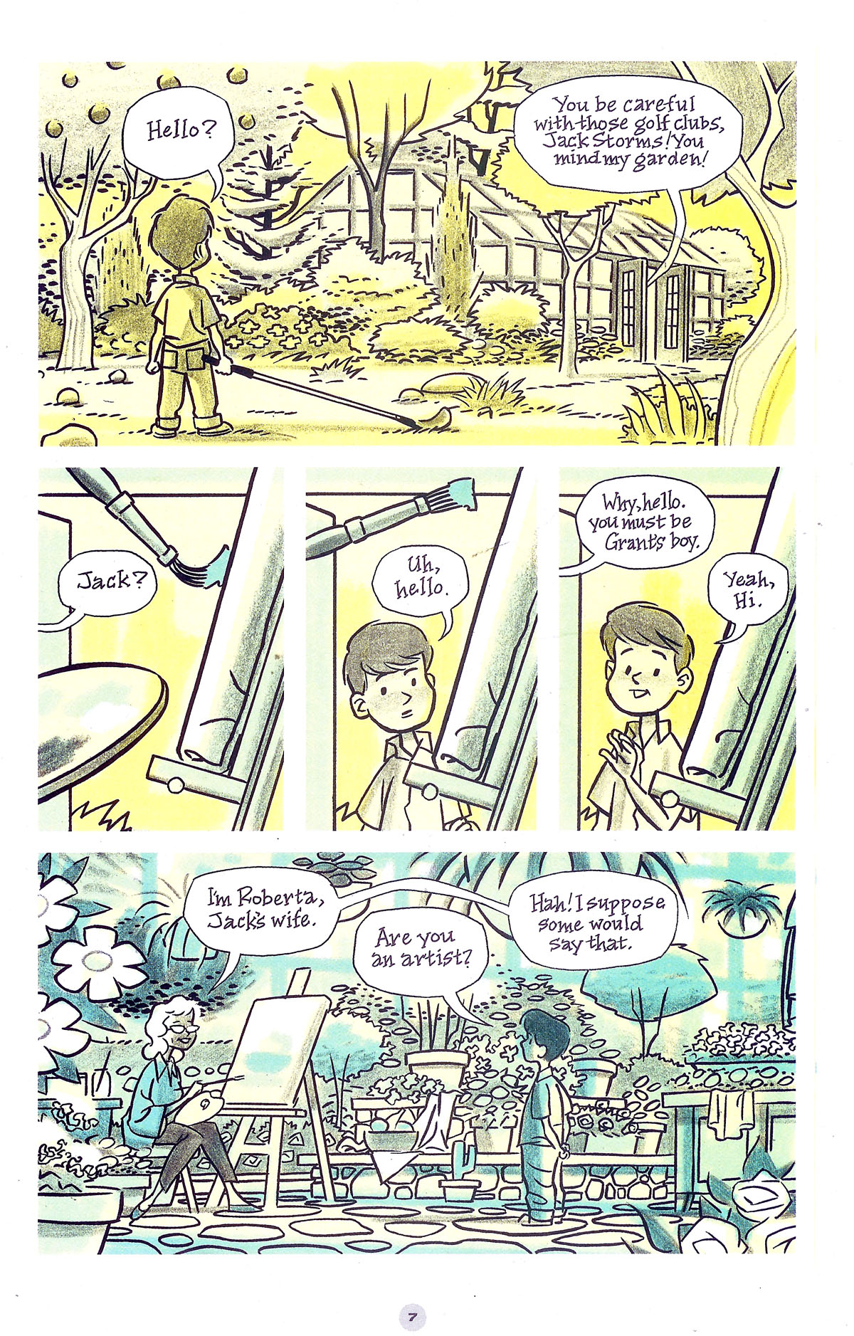 Read online Solo (2004) comic -  Issue #5 - 8