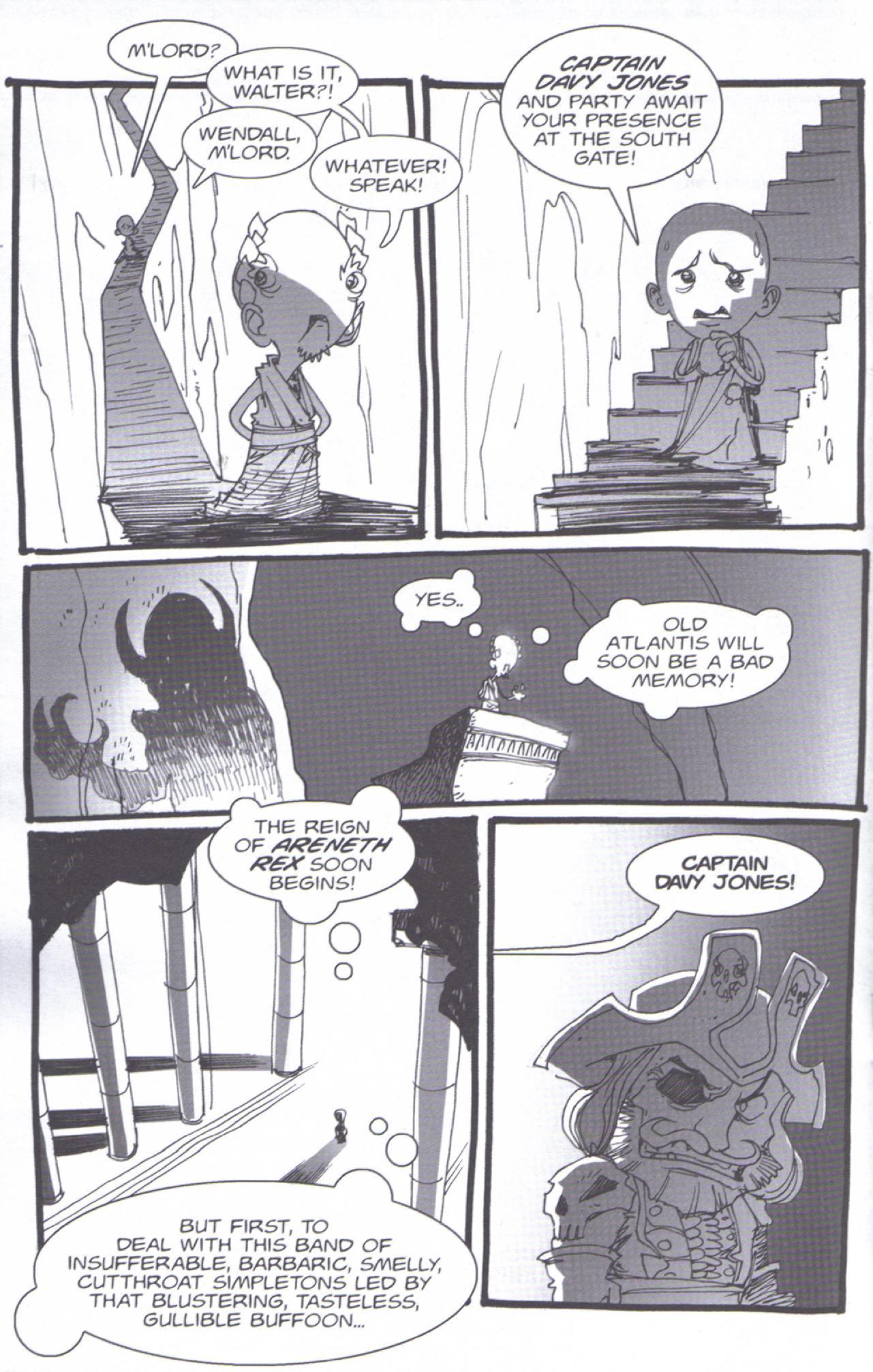 Read online Pirates vs. Ninjas: Global Harming comic -  Issue # Full - 15