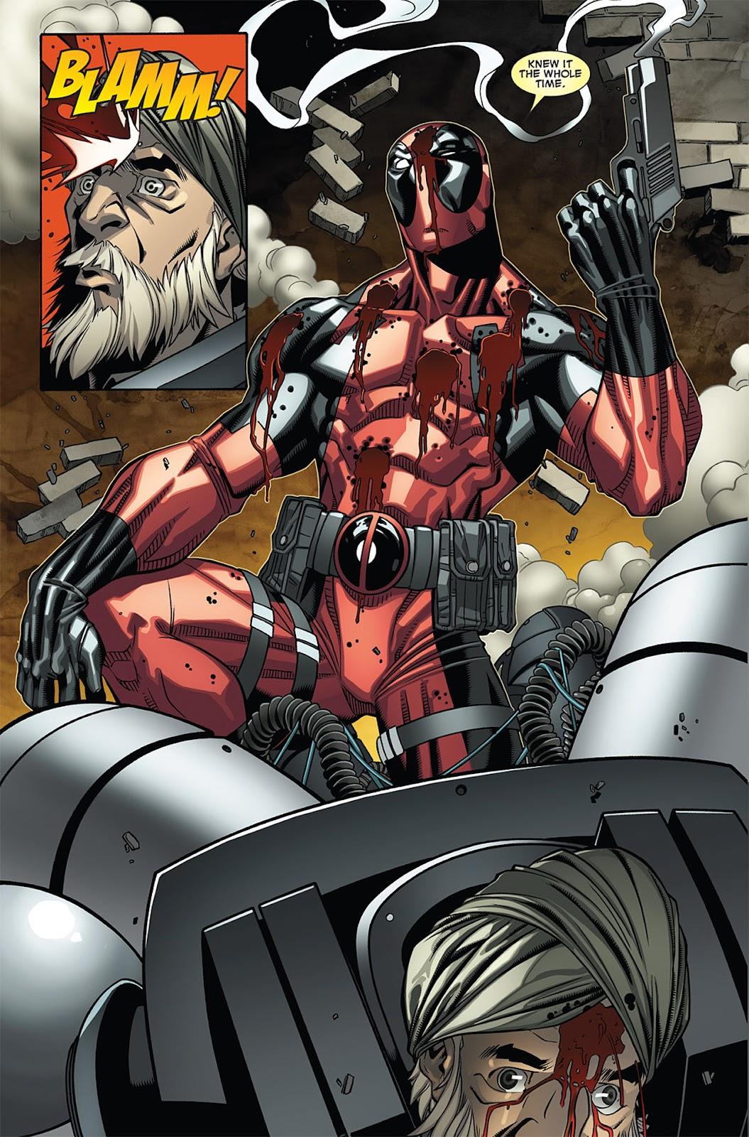 Read online Deadpool (2008) comic -  Issue #27 - 21