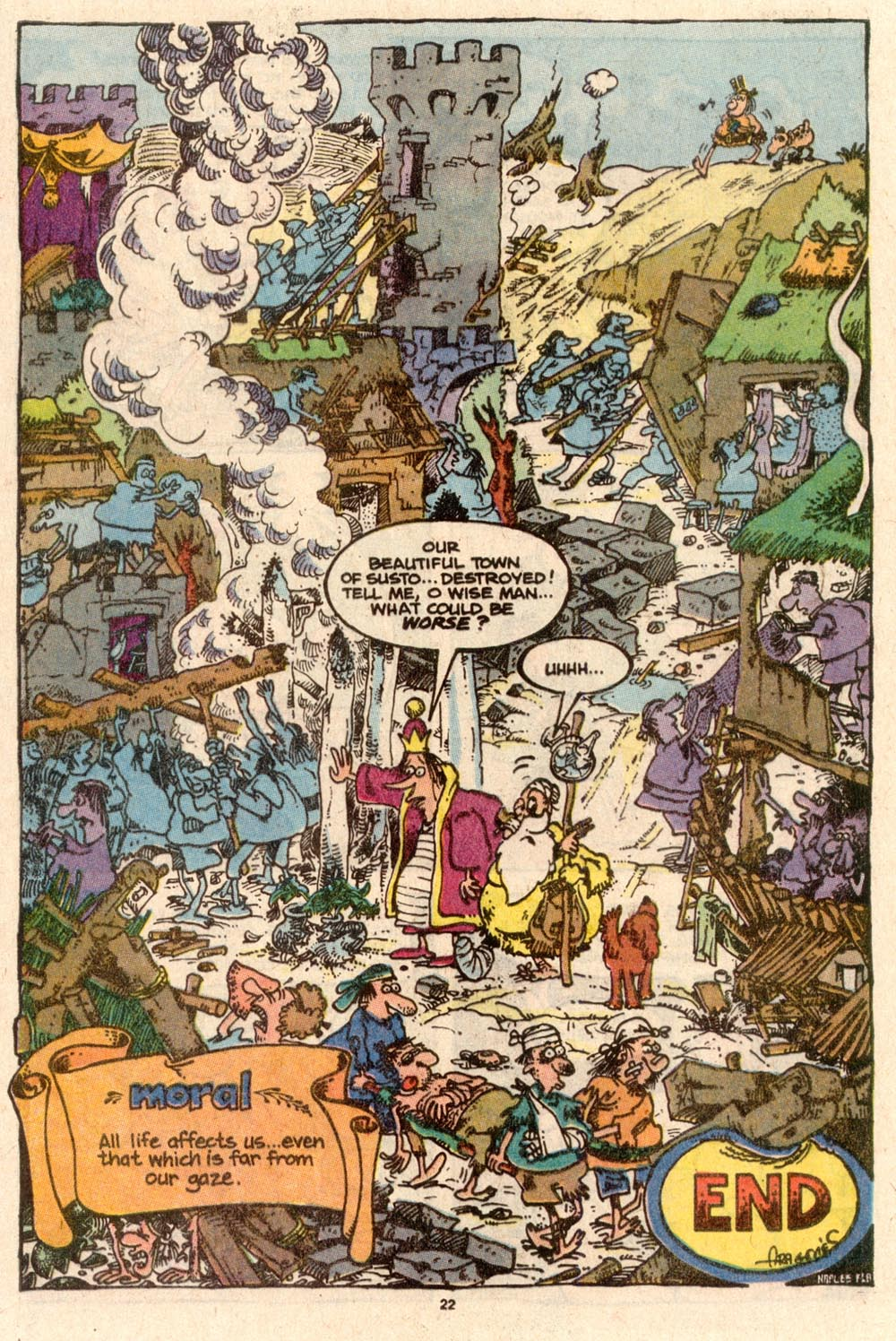 Read online Sergio Aragonés Groo the Wanderer comic -  Issue #59 - 22