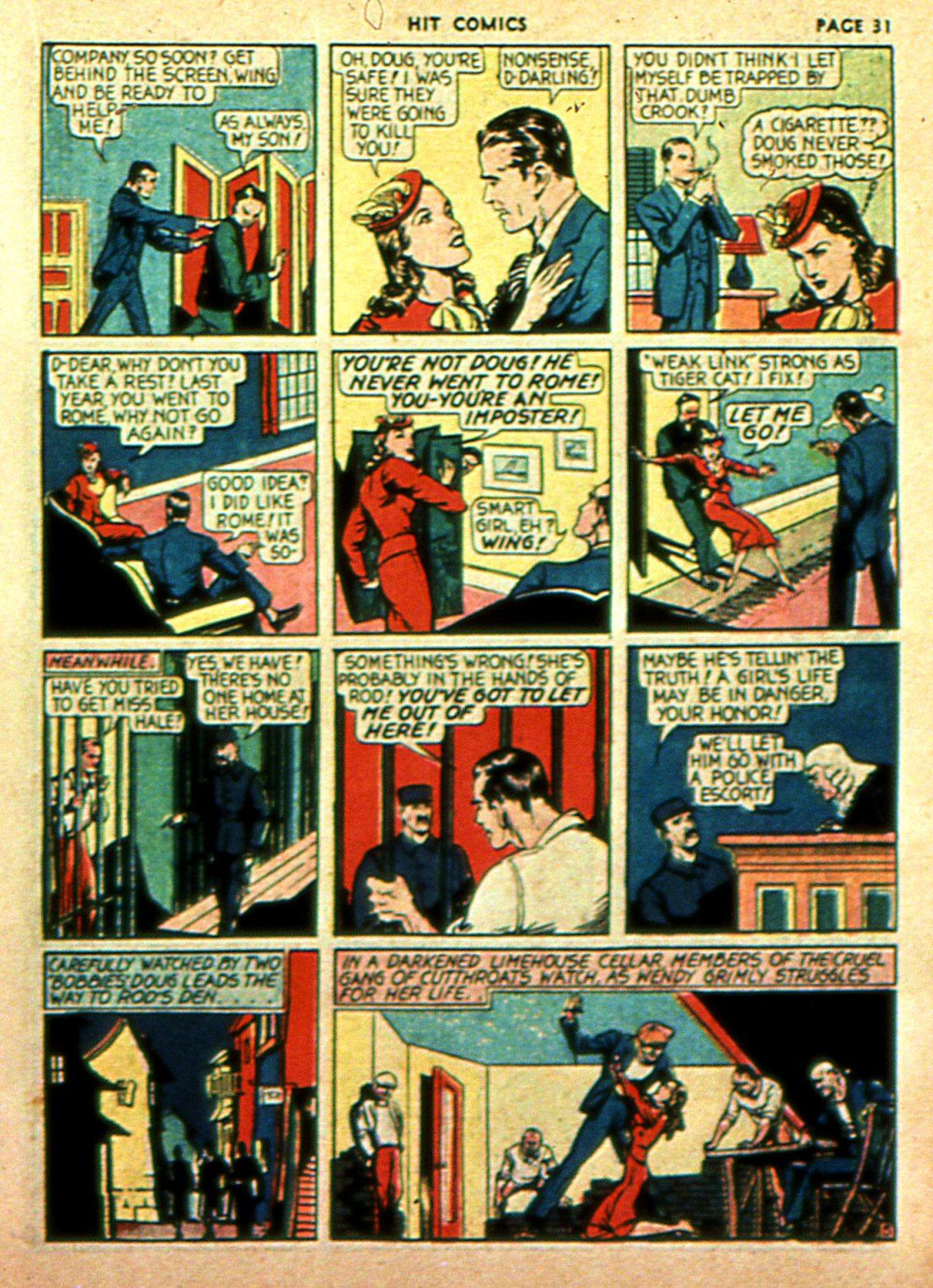 Read online Hit Comics comic -  Issue #2 - 33