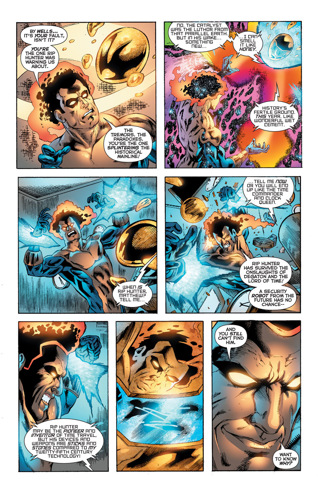 Read online 52 comic -  Issue #27 - 10