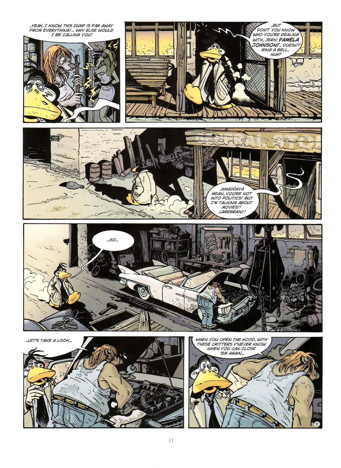 Une enquête de l'inspecteur Canardo issue 10 - Page 12