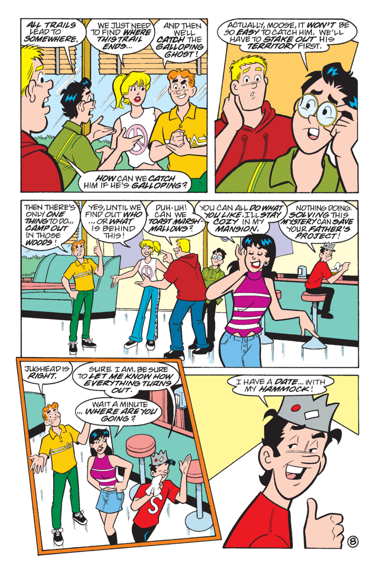 Read online Archie's Weird Mysteries comic -  Issue #23 - 10