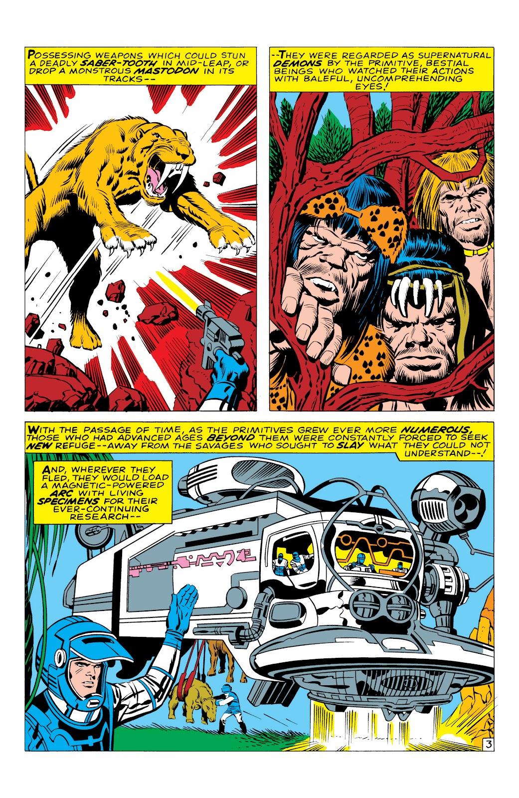 Read online Marvel Masterworks: The Inhumans comic -  Issue # TPB 1 (Part 1) - 10