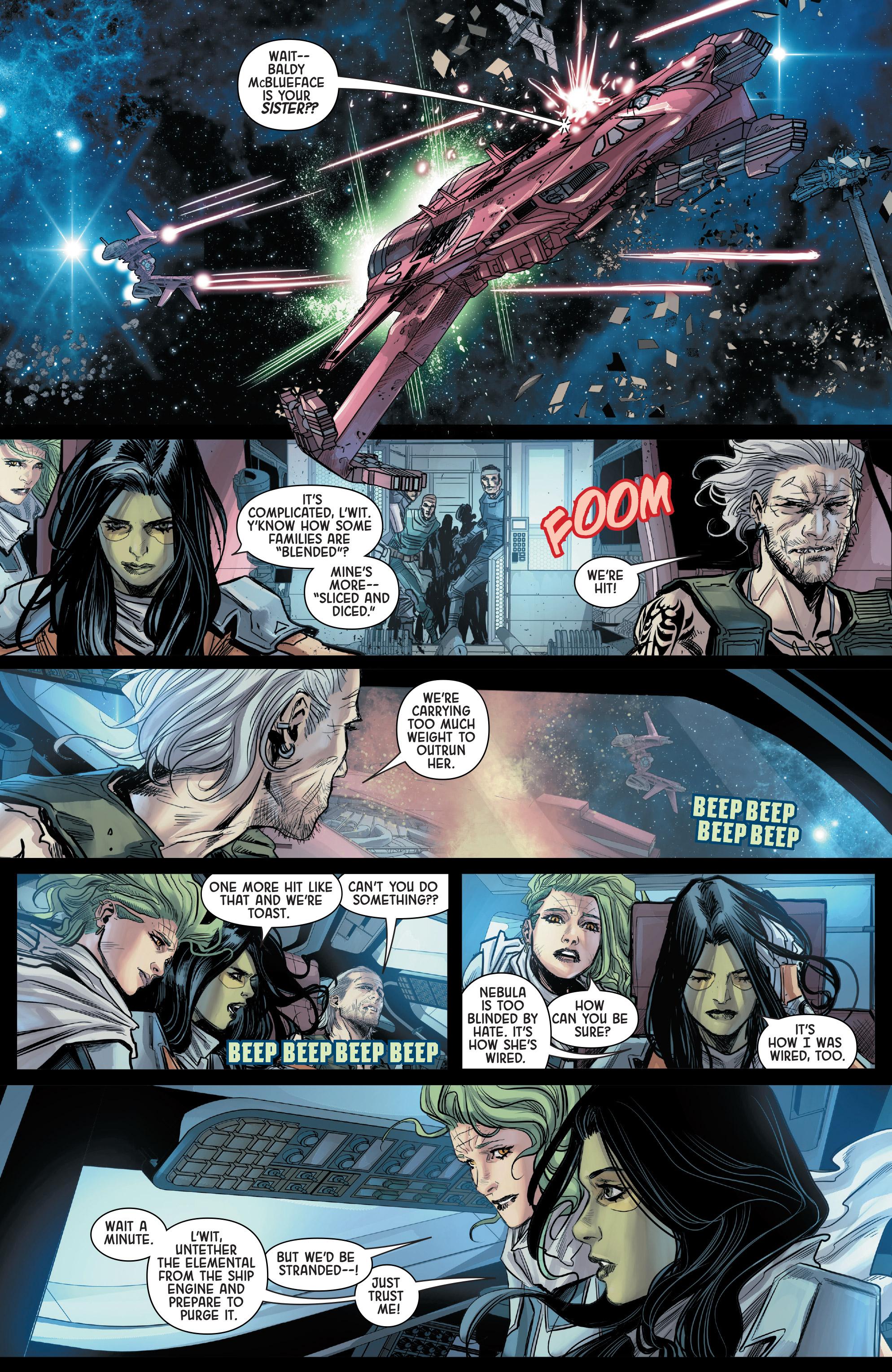 Read online Gamora comic -  Issue #5 - 17