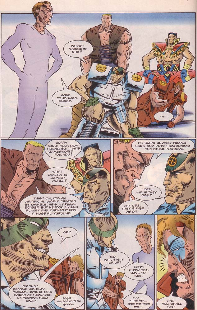 Read online Cyberspace 3000 comic -  Issue #8 - 8