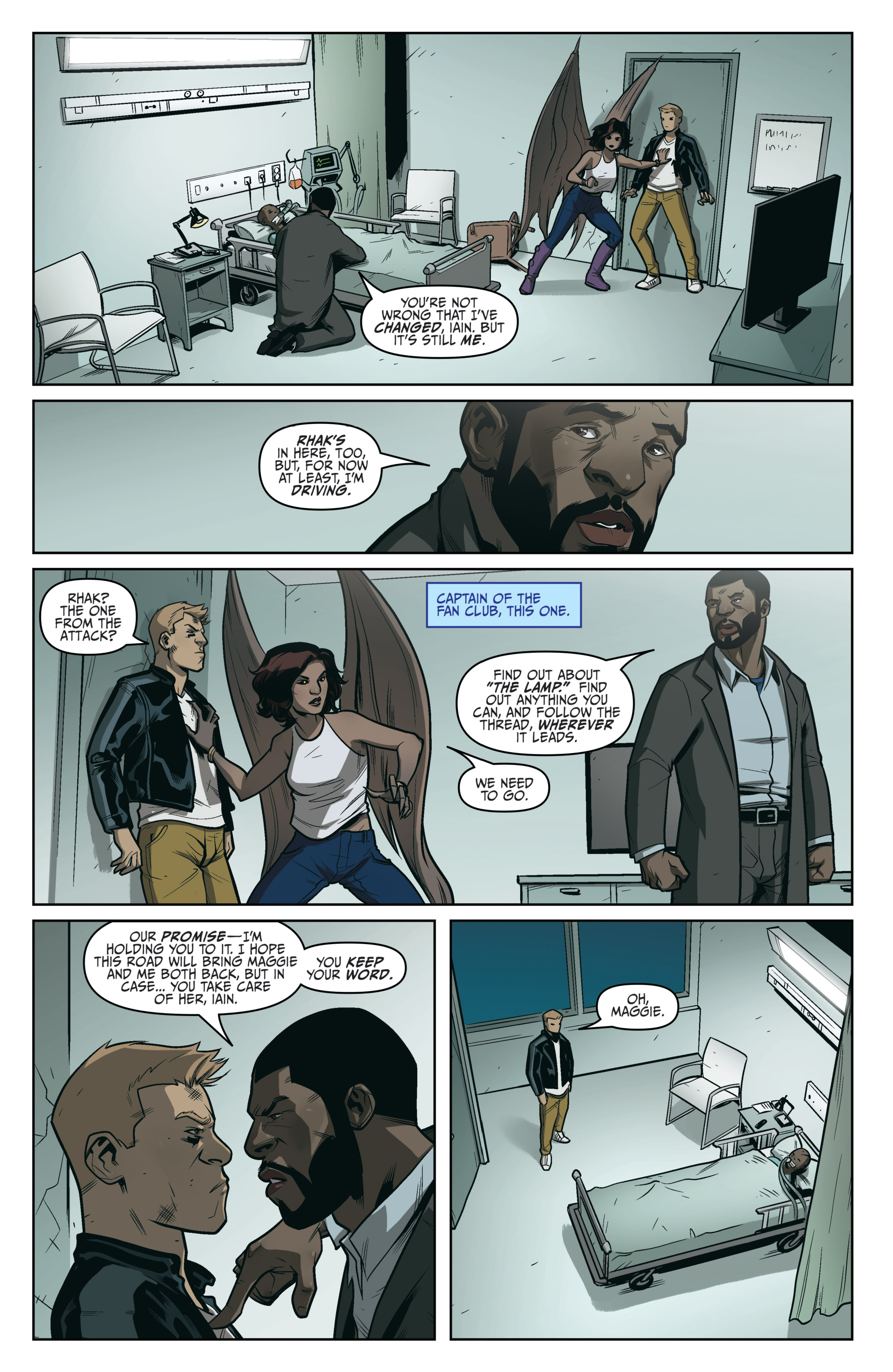 Read online Darkness Visible comic -  Issue #5 - 20