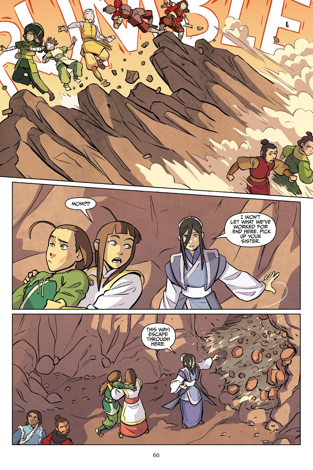 Read online Nickelodeon Avatar: The Last Airbender - Imbalance comic -  Issue # TPB 2 - 67