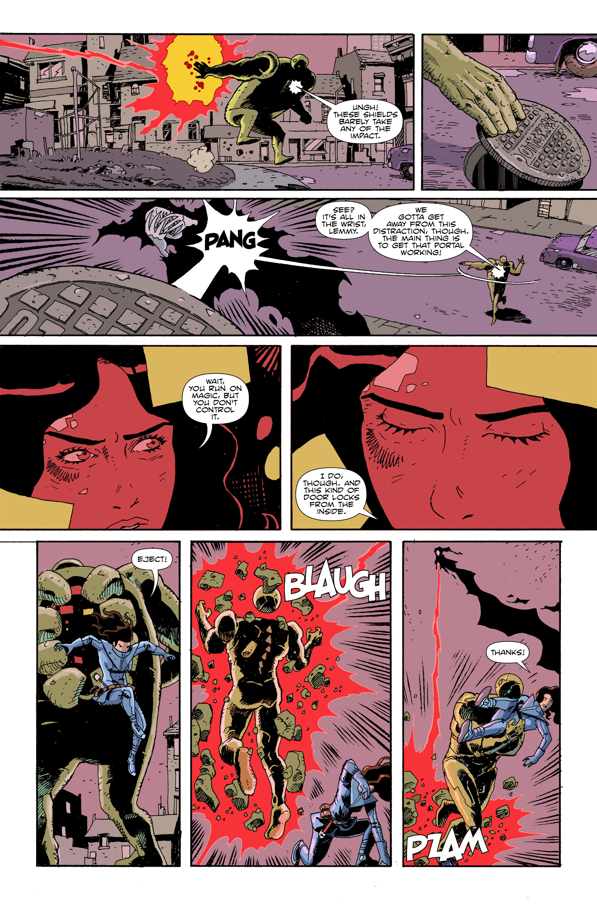 Read online Amelia Cole Versus The End of Everything comic -  Issue #29 - 8
