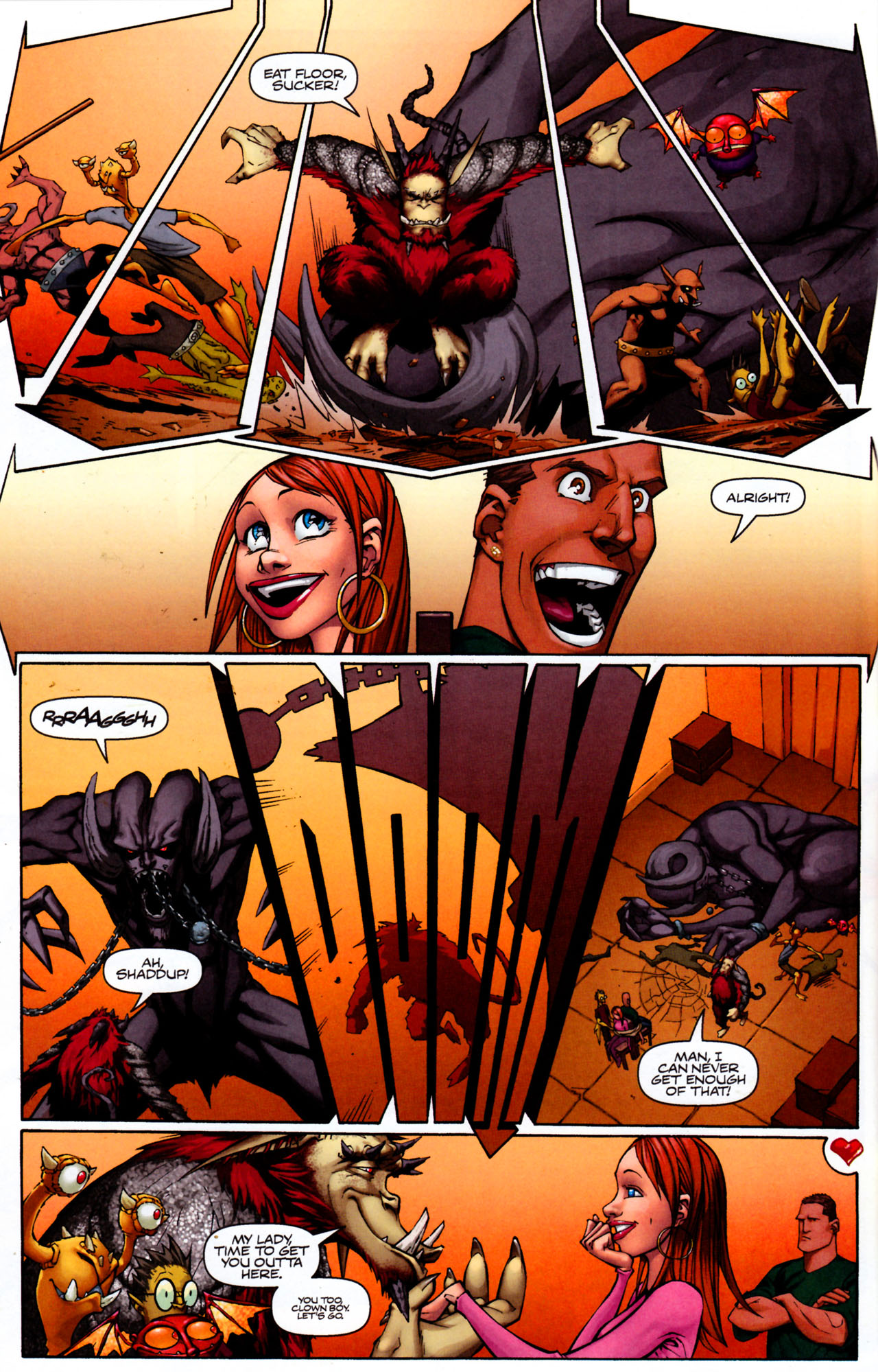 Read online Shrugged (2006) comic -  Issue #8 - 20