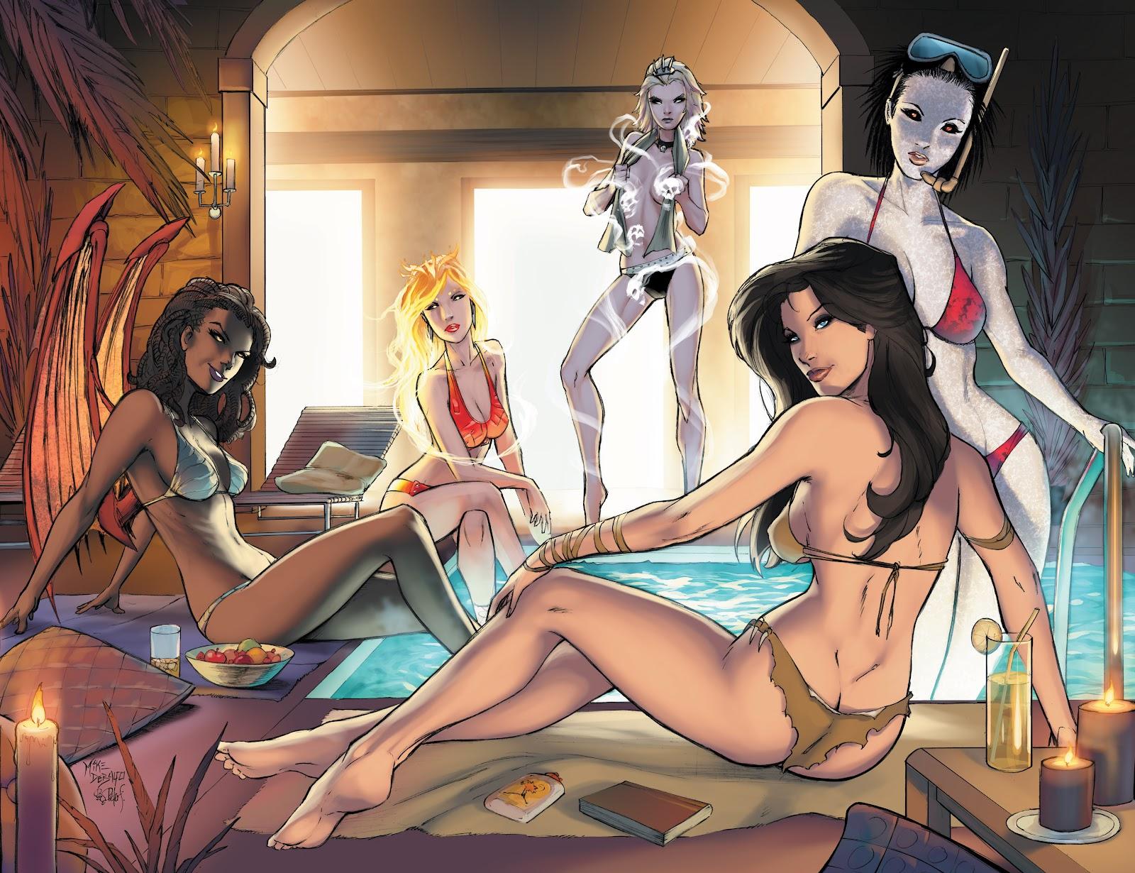 Read online Aspen Splash: Swimsuit Spectacular comic -  Issue # Issue 2013 - 18
