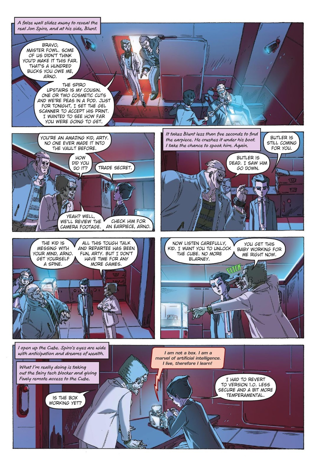 Artemis Fowl: The Eternity Code issue TPB - Page 93