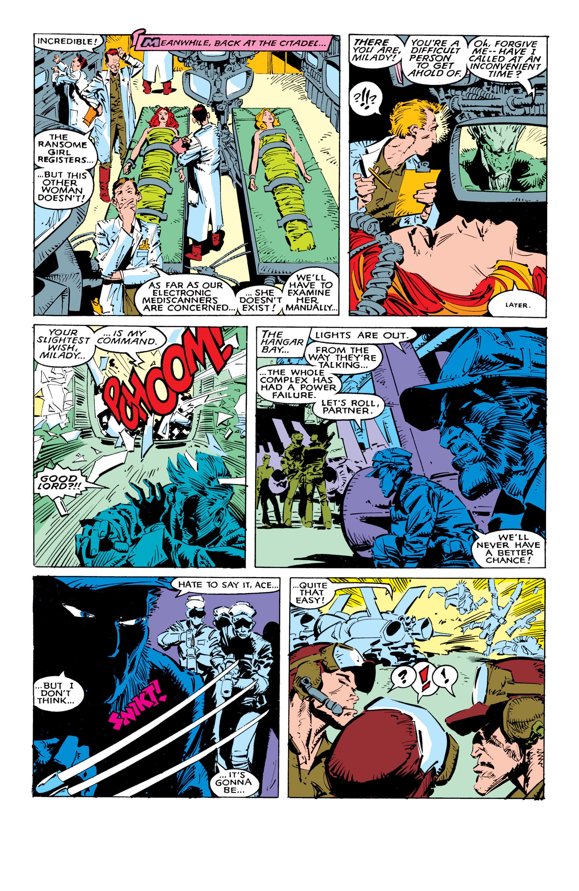 Read online Uncanny X-Men (1963) comic -  Issue #236 - 22