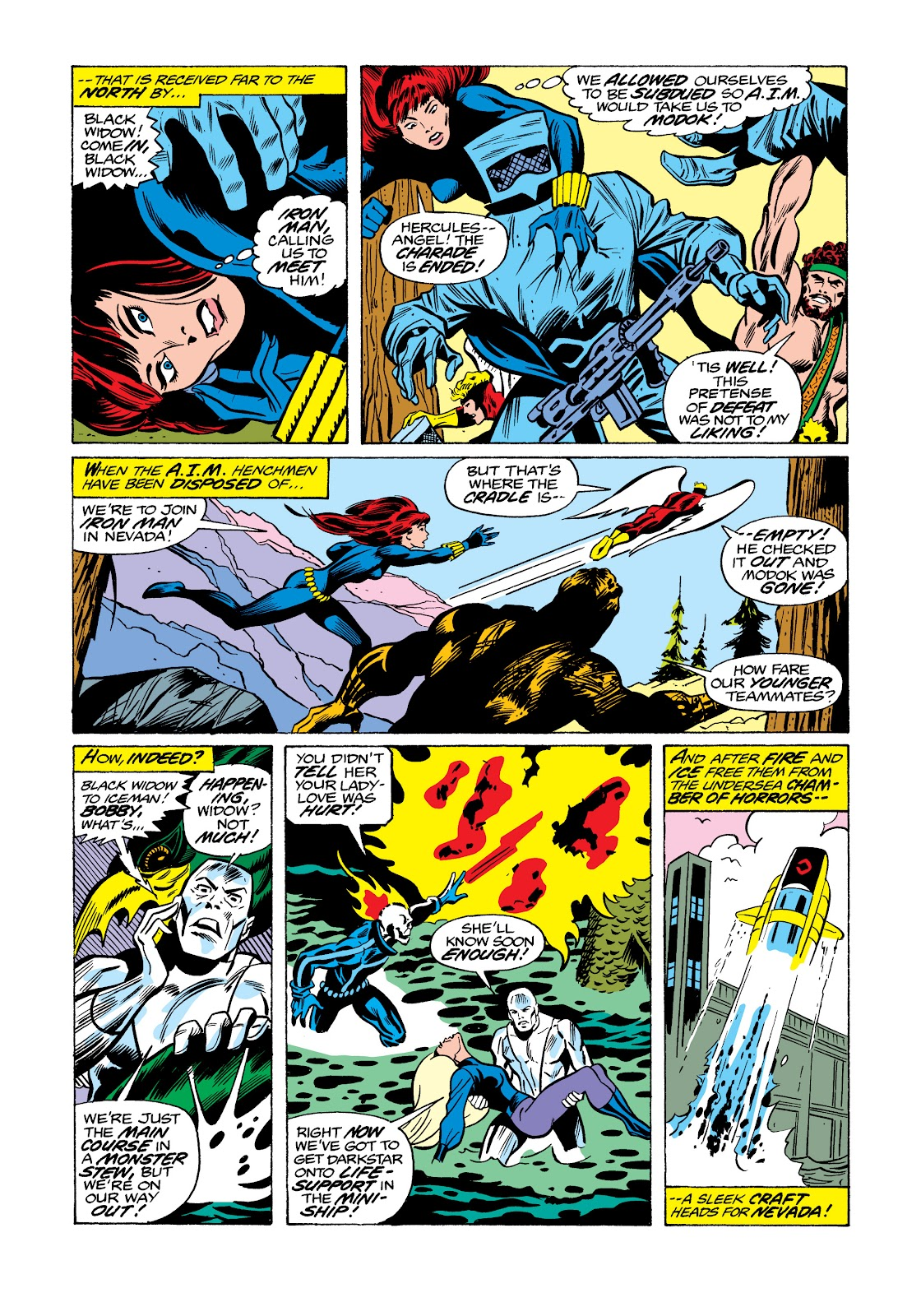 Read online Marvel Masterworks: The Invincible Iron Man comic -  Issue # TPB 11 (Part 3) - 107
