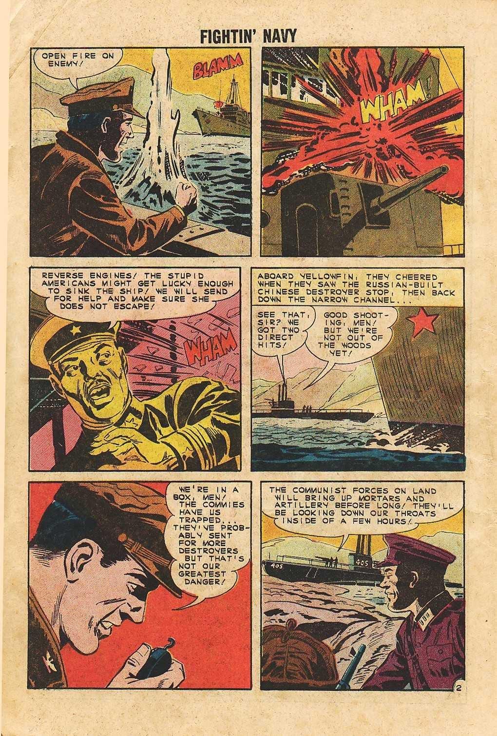 Read online Fightin' Navy comic -  Issue #105 - 16
