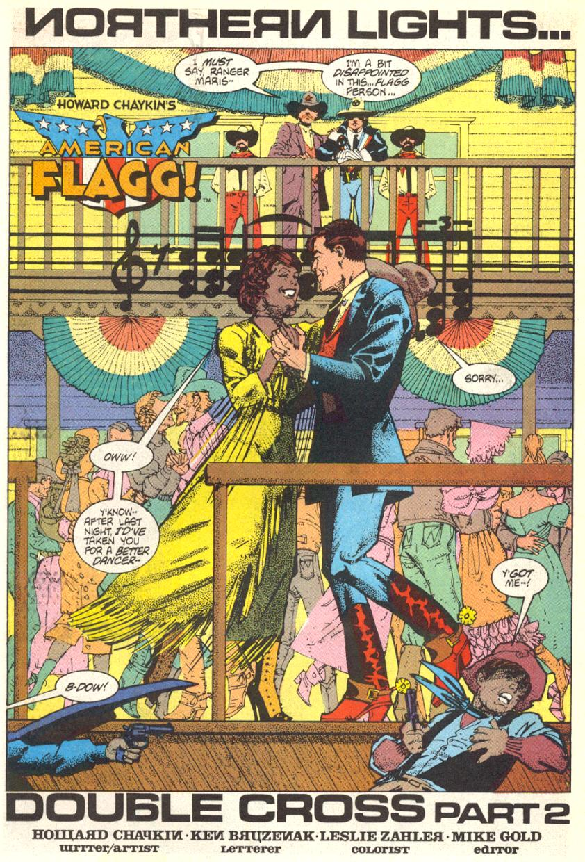 Read online American Flagg! comic -  Issue #16 - 4