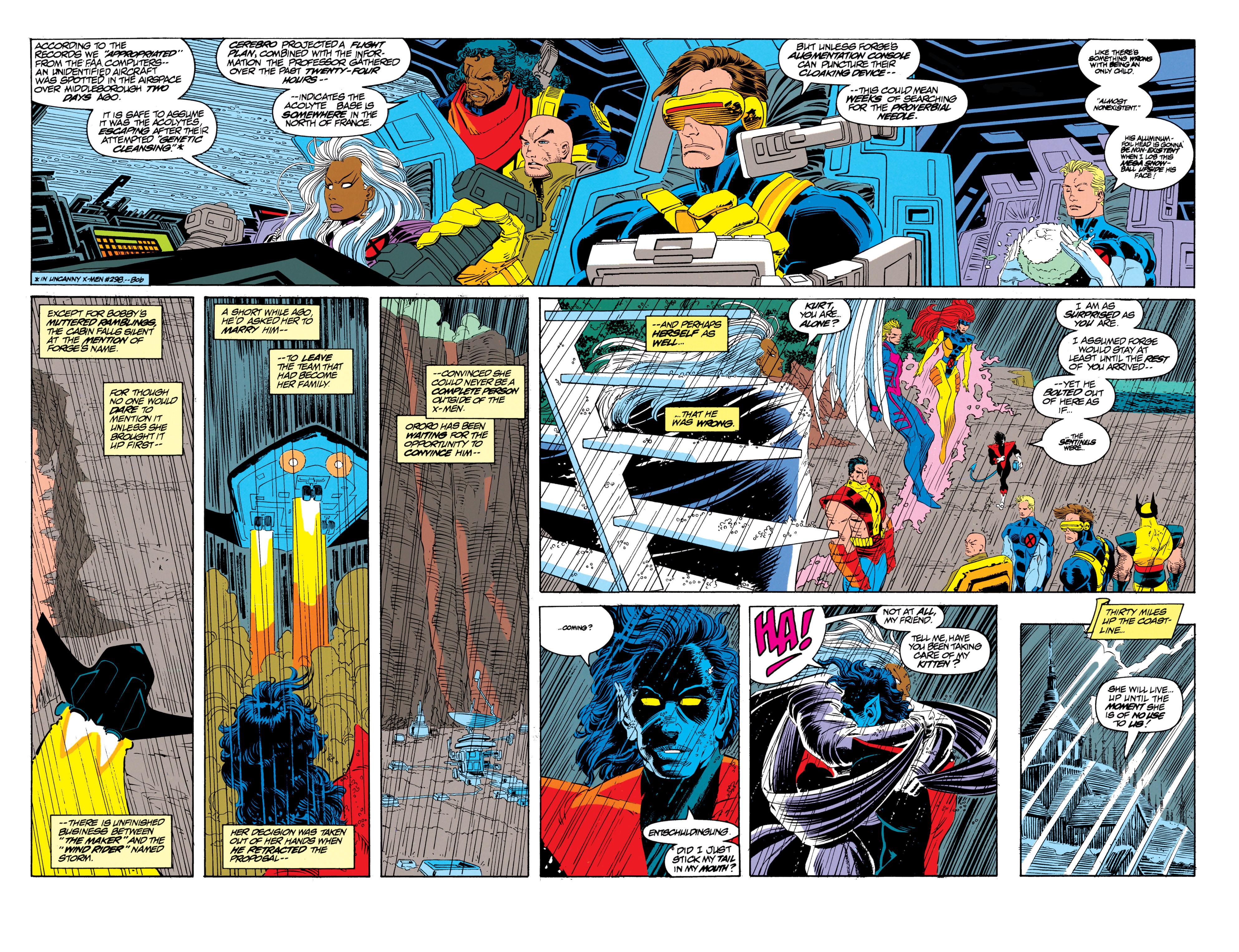 Read online Uncanny X-Men (1963) comic -  Issue #300 - 17