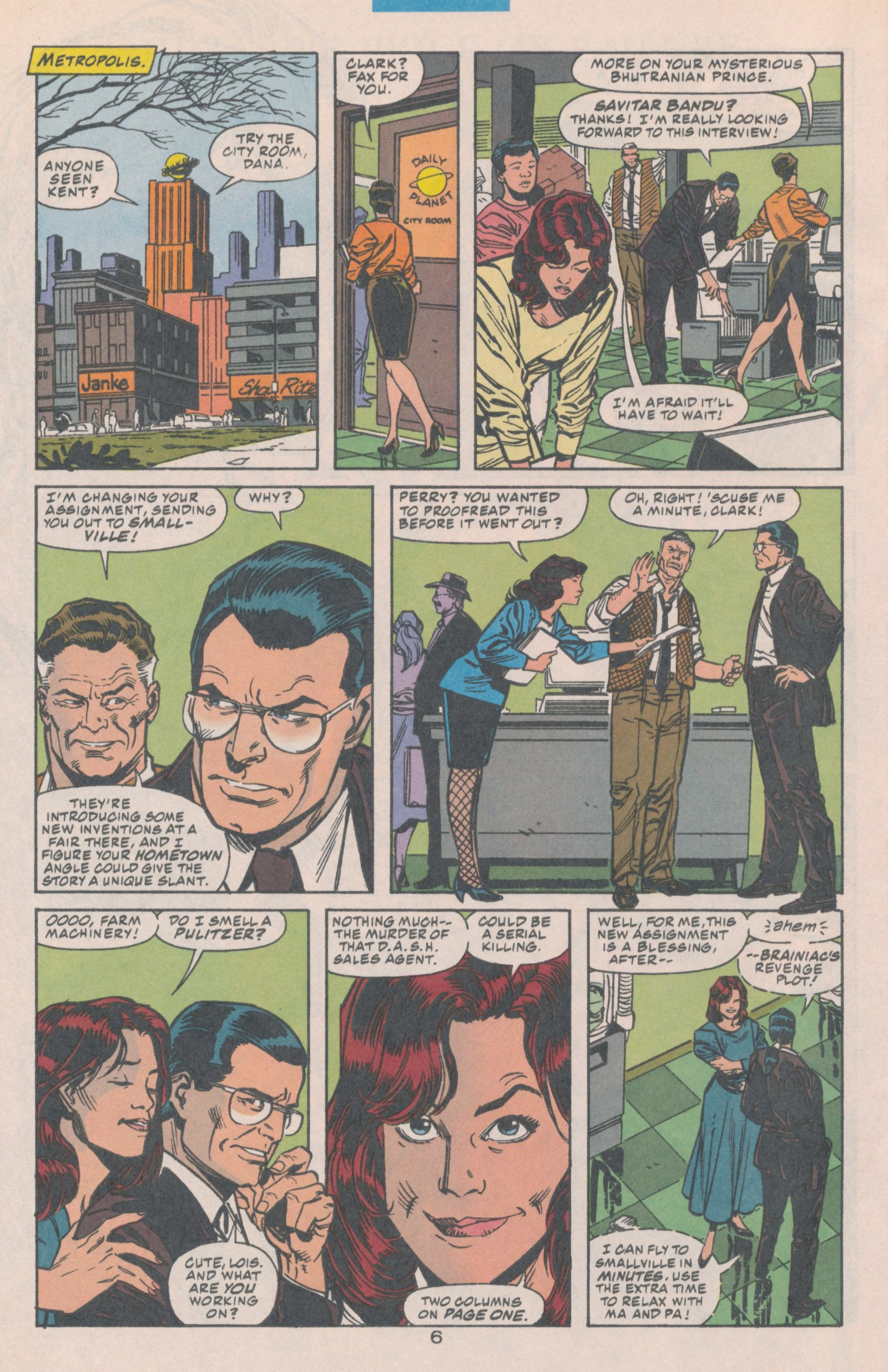 Read online Action Comics (1938) comic -  Issue #706 - 9