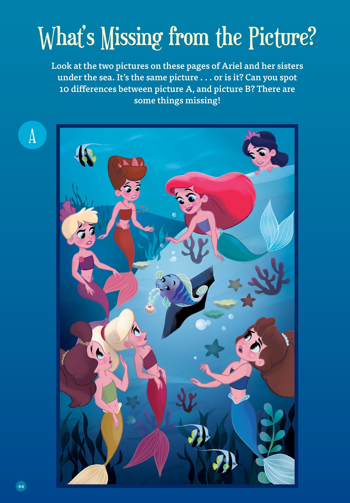 Read online Disney Princess: Ariel and the Sea Wolf comic -  Issue # Full - 41