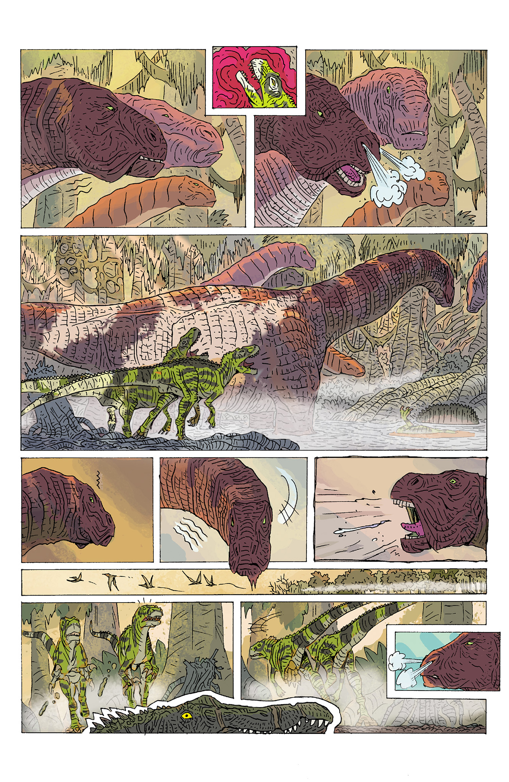 Read online Age of Reptiles: Ancient Egyptians comic -  Issue #1 - 11