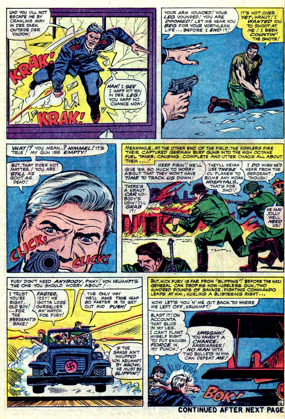 Read online Sgt. Fury comic -  Issue #19 - 22
