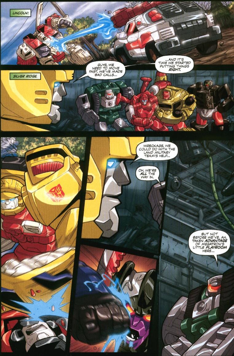 Read online Transformers Armada comic -  Issue #7 - 19