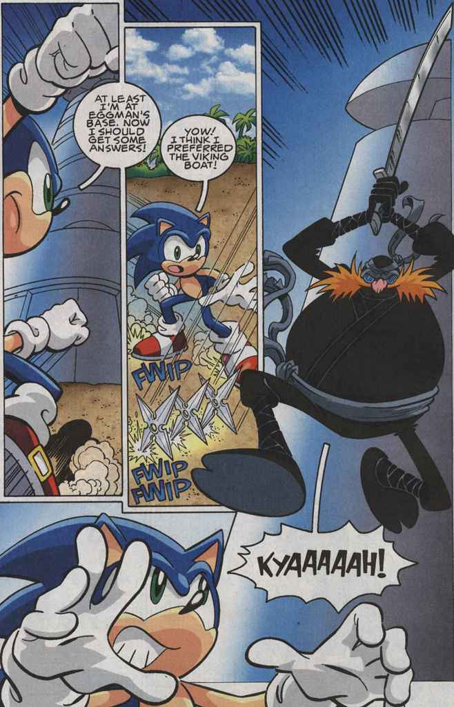 Read online Sonic X comic -  Issue #35 - 12