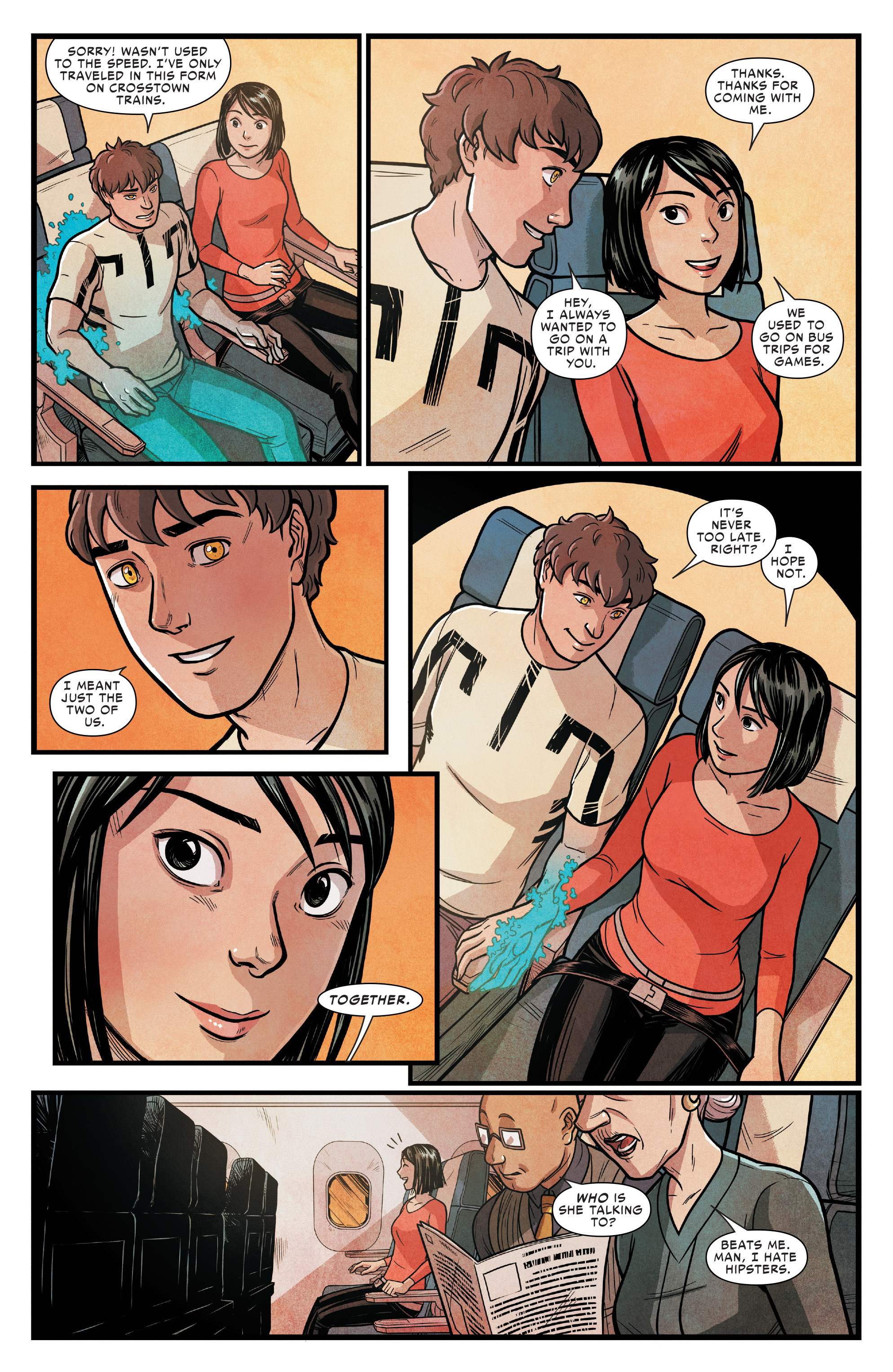 Read online Silk (2016) comic -  Issue #14 - 10